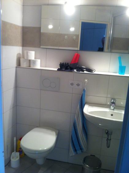 Waschbecken & WC