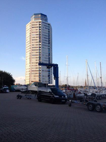 Bootsverladung & Bootsentladung – direkt am Yachthafen