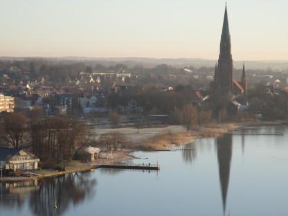 Blick auf den Schleswiger Dom