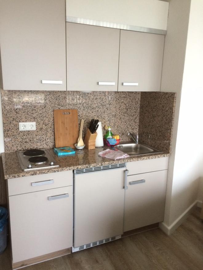 kleine & praktische Küchenzeile