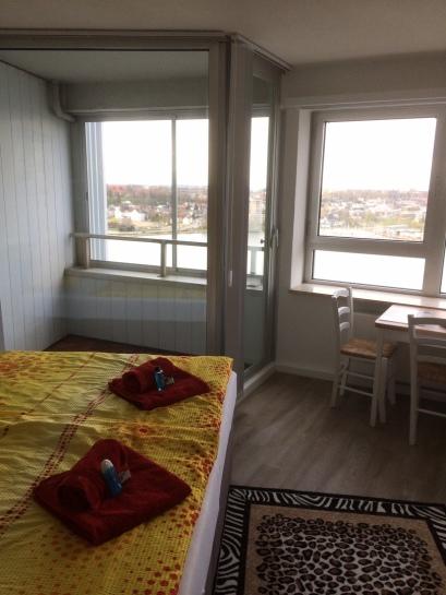 Zimmer mit herrlicher Aussicht