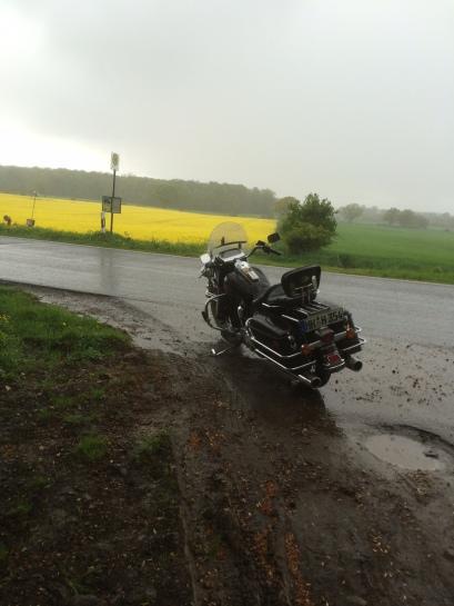 Sonne und Regen wechseln sich ab – wie überall