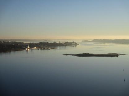 herrlicher Blick auf die Schlei & Möweninsel